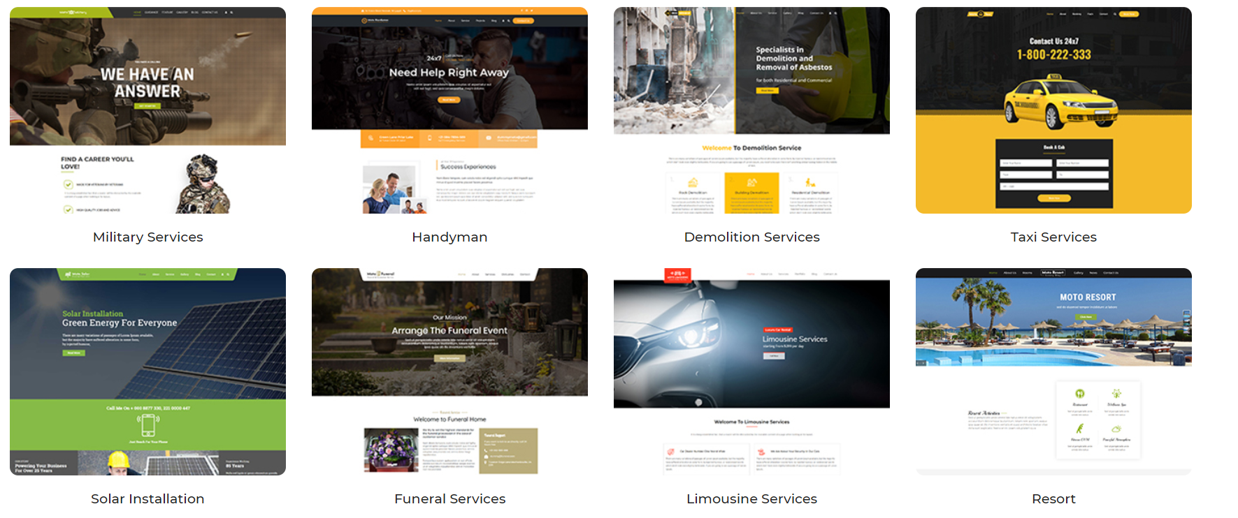 PRODUCTS AND SERVICES 8