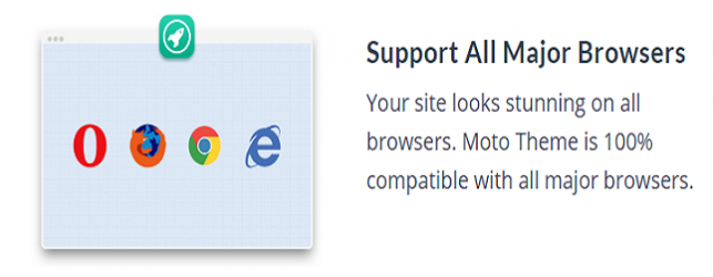 MOTO theme features_support all major browsers