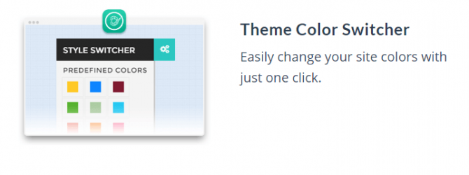 MOTO theme feature_theme color switcher