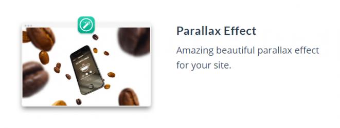 MOTO theme feature_parallax effect