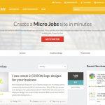 Taskerr Premium Micro Jobs WP Theme