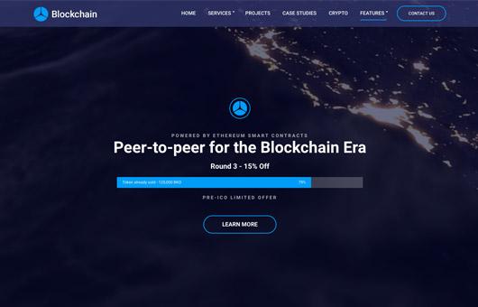 CSS Igniter Blockchain WordPress Theme 1