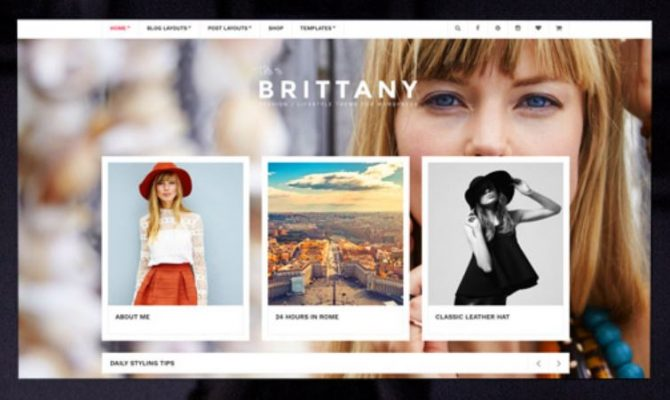 CSS Igniter Britanny WordPress Theme