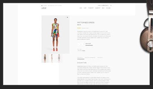 CSS Igniter Loge WooCommerce WordPress Theme