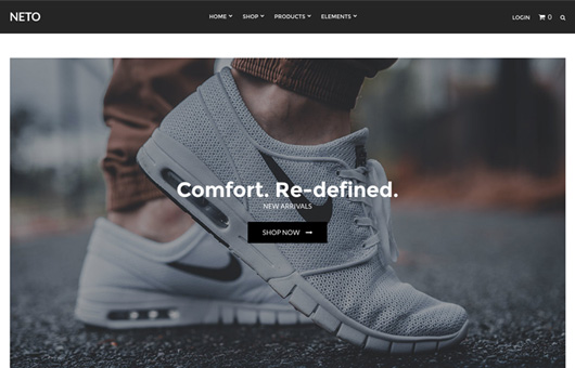 CSS Igniter Neto WordPress Theme