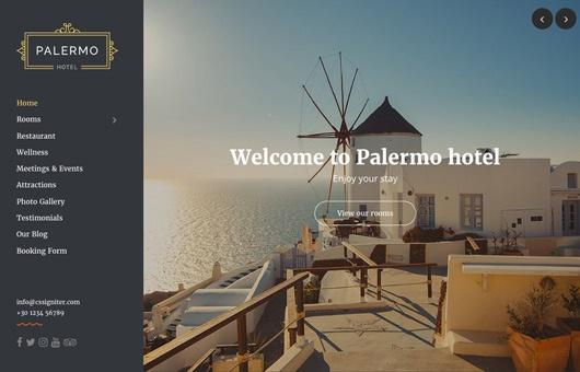 CSS Igniter Palermo WordPress Theme 1
