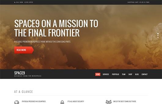 CSS Igniter Space9 WordPress Theme 1