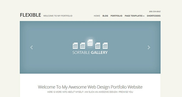 Elegant Themes Flexible WordPress Theme