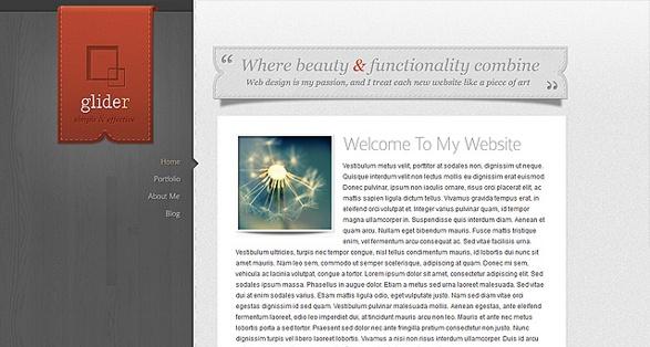 Elegant Themes Glider WordPress Theme
