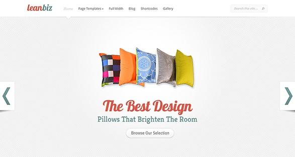 elegant themes lean biz wordpress theme