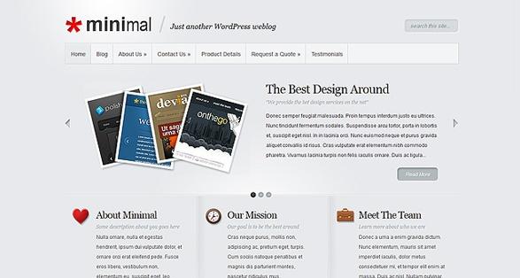 Elegant Themes Minimal WordPress Theme