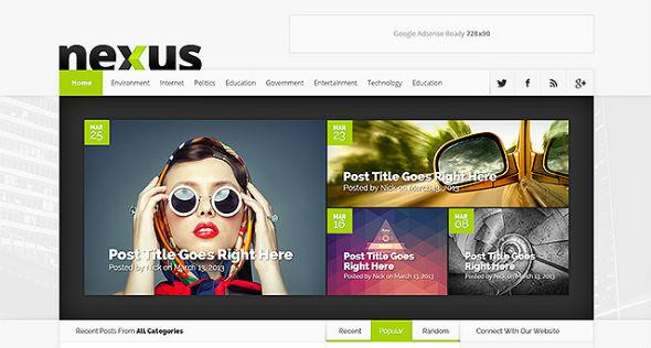 Elegant Themes Nexus WordPress Theme