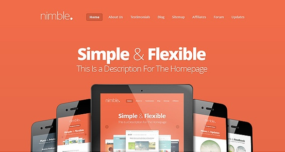 Elegant Themes Nimble WordPress Theme