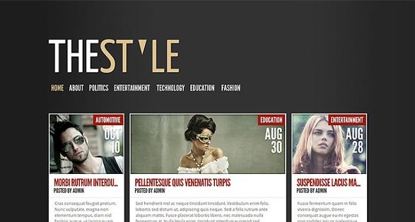Elegant Themes TheStyle WordPress Theme