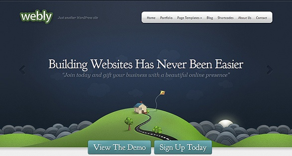 Elegant Themes Webly WordPress Theme