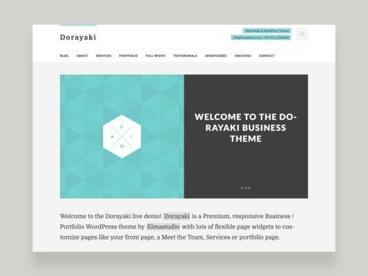 Elmastudio Dorayaki WordPress Theme