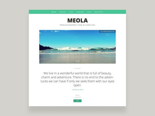 Elmastudio Meola WordPress Them