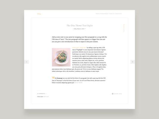 Elmastudio Oita WordPress Theme