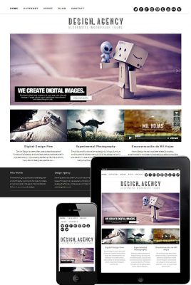Dessign Agency Responsive WordPress Theme