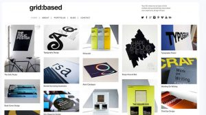 dessign grid based responsive wordpress theme