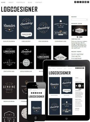 dessign logo designer responsive wordpress theme