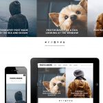 dessign photo swipe responsive wordpress theme