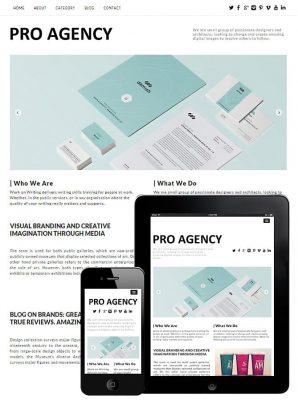 dessign pro agency responsive wordpress theme