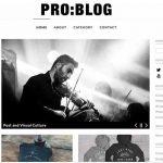 dessign pro blog responsive wordpress them