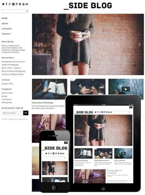 dessign side blog responsive wordpress theme