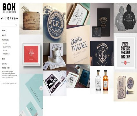 Dessign Side Box Responsive WordPress Theme 1