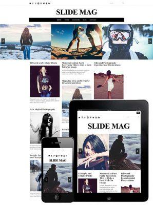 dessign slide mag responsive wordpress theme