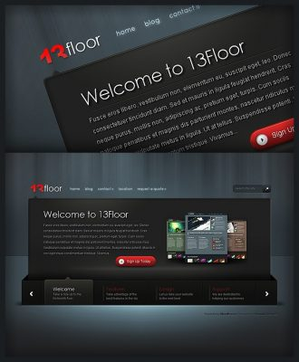 elegant themes 13floor wordpress theme
