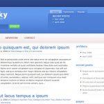Elegant Themes BlueSky WordPress Theme 1