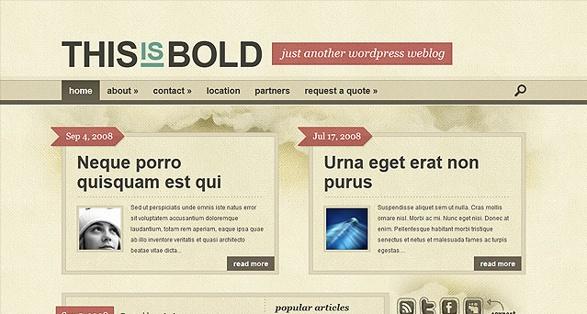 elegant themes bold wordpress theme