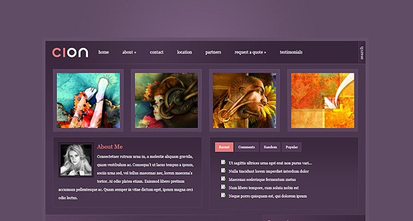 elegant themes cion wordpress themes
