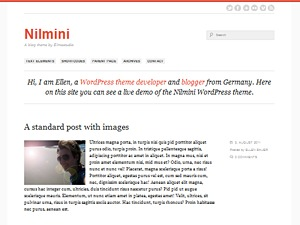 elmastudio nilmini wordpress theme