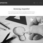 Graph Paper Press Cooperative WordPress Theme
