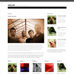 Graph Paper Press Gridline WordPress Theme