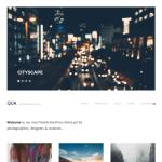 Graph Paper Press Qua WordPress Theme