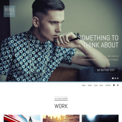 Graph Paper Press Wall Street WordPress Theme