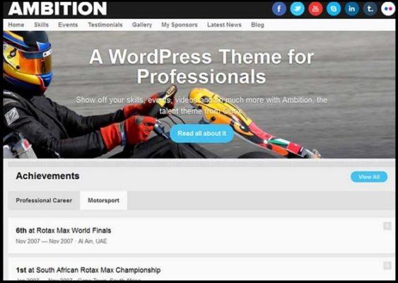 Obox Themes Ambition WordPress Theme