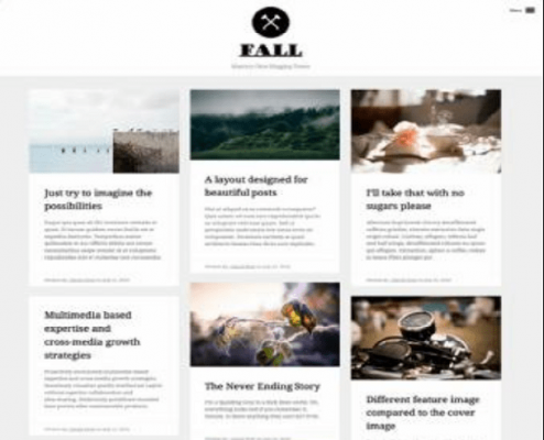 Obox Themes Fall WordPress Theme