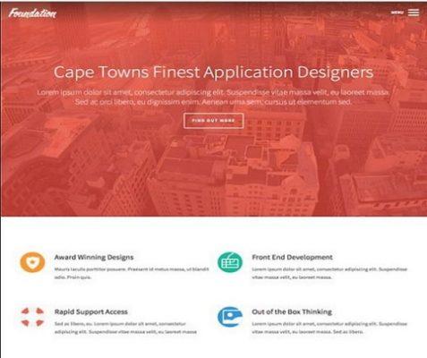 Obox Themes Foundation WordPress Theme