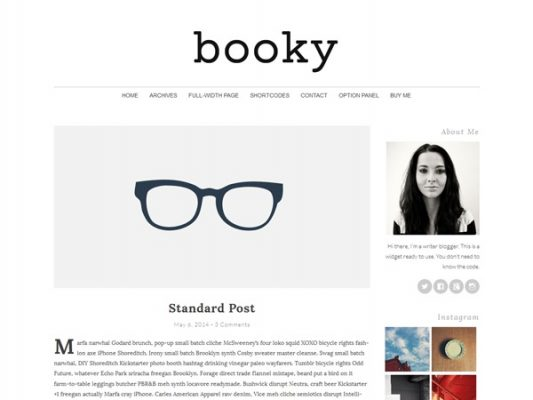 PanKogut Booky Premium WordPress Theme