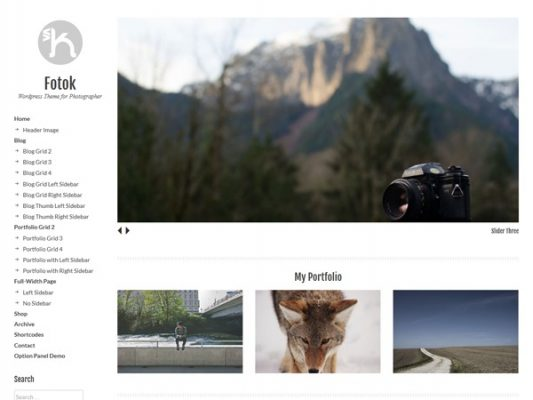 PanKogut Fotok Premium WordPress Theme