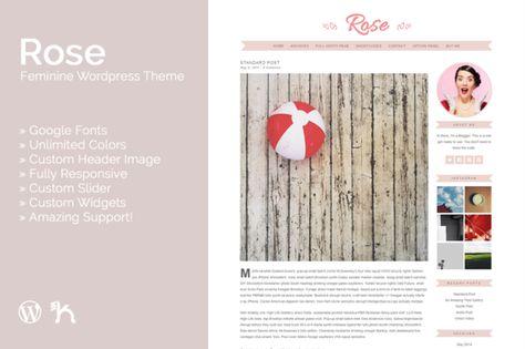 Pankogut Rose WordPress Theme
