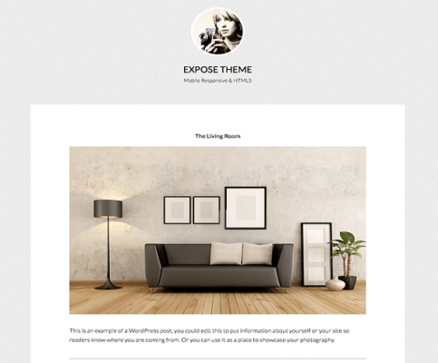 StudioPress Expose Pro WordPress Theme