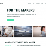 StudioPress Maker Pro WordPress Theme