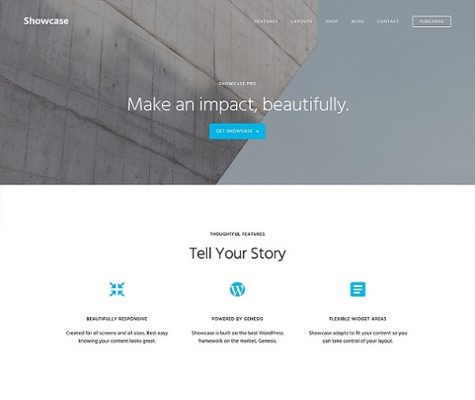 StudioPress Showcase Pro WordPress Theme