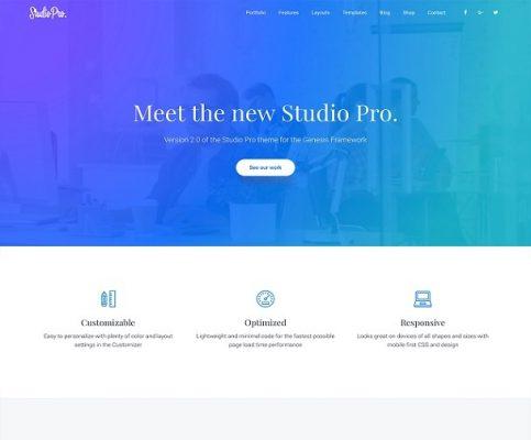 StudioPress Studio Pro WordPress Theme